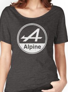 Alpine White Vintage Graphic Women's Relaxed Fit T-Shirt