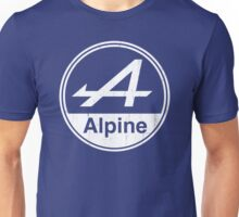 Alpine White Vintage Graphic Unisex T-Shirt