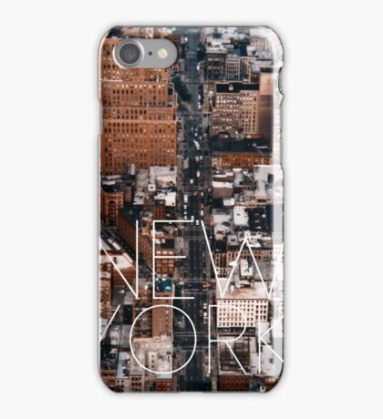 NEW YORK VII iPhone Case/Skin