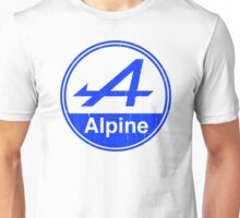 Alpine Blue Vintage Graphic Unisex T-Shirt