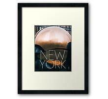 NEW YORK VIII Framed Print