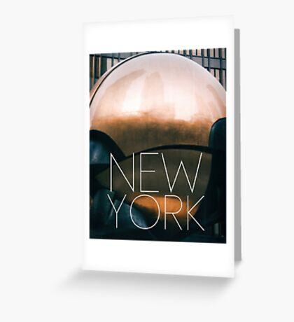 NEW YORK VIII Greeting Card