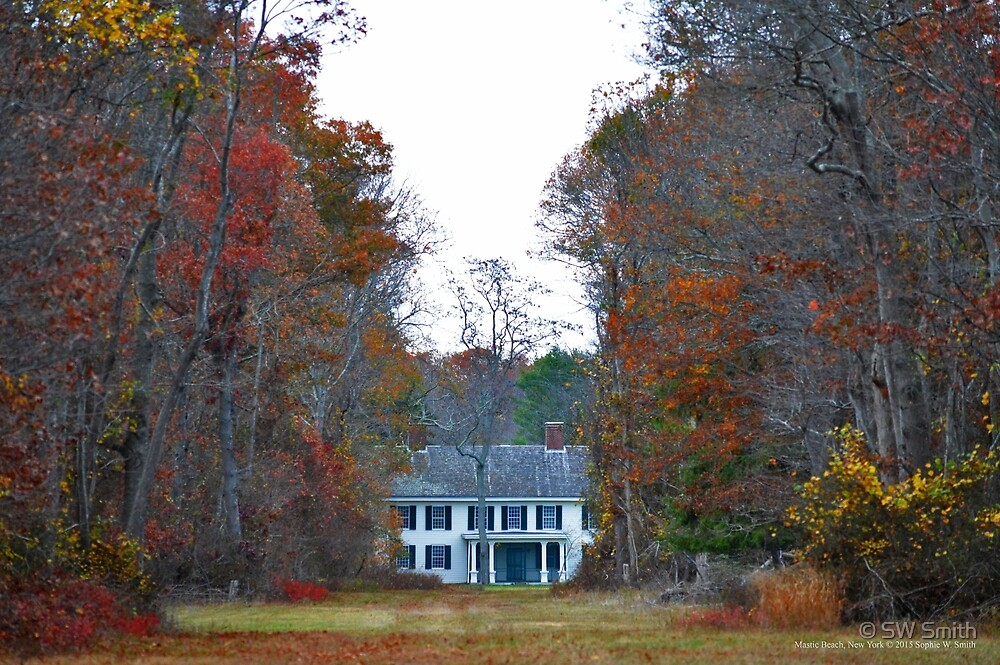View On William Floyd's House   Mastic Beach, New York by © Sophie W. Smith
