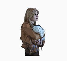 Emma Holding Baby Neal Color (Once Upon A Time) Unisex T-Shirt