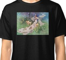 Fairy and Lambs - Warwick Goble Classic T-Shirt