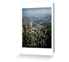 NEW YORK IX Greeting Card