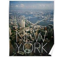 NEW YORK IX Poster