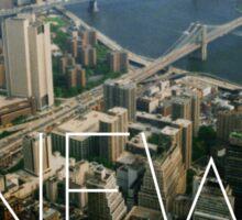 NEW YORK IX Sticker