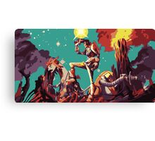 Daring Dandy Canvas Print