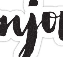 bonjour Sticker