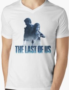 "The Last Of Us ""Cold Winter"" Mens V-Neck T-Shirt"