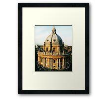 OXFORD I Framed Print
