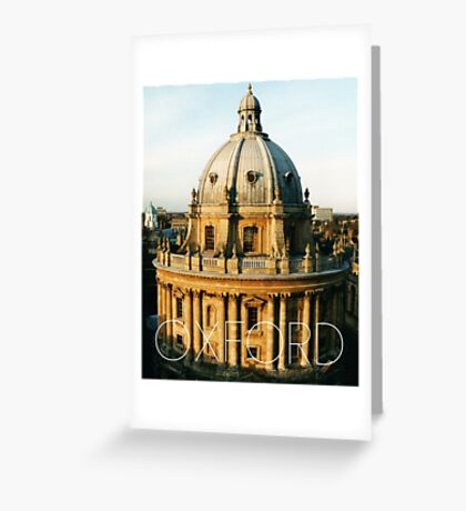 OXFORD I Greeting Card