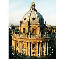 OXFORD I Photographic Print