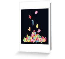Tetrisometric Greeting Card