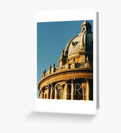 OXFORD II Greeting Card