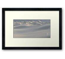 Dune Waves Framed Print
