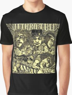 JETHRO TULL STAND UP COMEDY Graphic T-Shirt