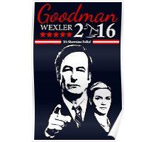 GOODMAN WEXLER 2016 It's Showtime Folks! Better Call Saul Poster