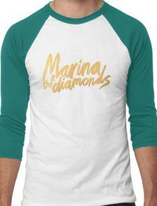 M Logo Gold Men's Baseball ¾ T-Shirt