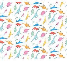 Dino Doodles Photographic Print