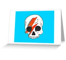 Mourning the Starman Greeting Card