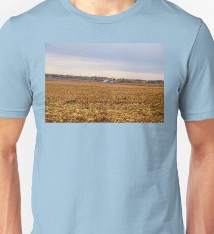Autumn On An Indiana Farm Unisex T-Shirt