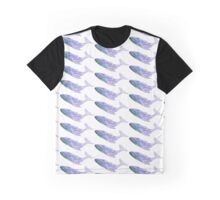 Save the Whales Water Color Graphic T-Shirt
