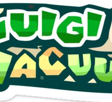 The Luigi Vacuum's Sticker
