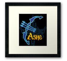 Ashe Bow Framed Print