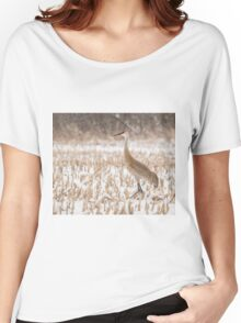 Sandhill Crane 2016-1 Women's Relaxed Fit T-Shirt