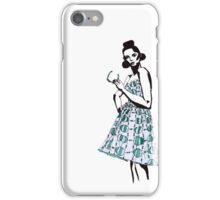 Dipole Dress (Entropy of Style) iPhone Case/Skin