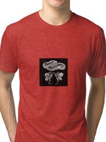 Vintage Dance of the Honey Bees Tri-blend T-Shirt