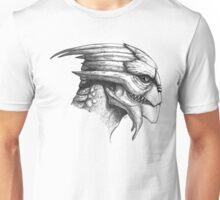 Male Turian Profile Unisex T-Shirt