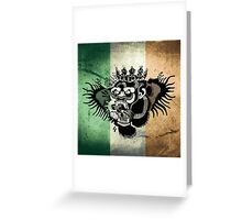 McGregor TriColour Gorilla Greeting Card