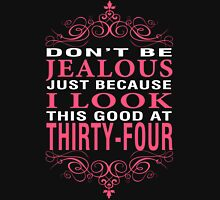 Dont' Be Jealous - 34 Women's Fitted V-Neck T-Shirt