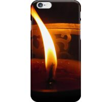 candle flame #2 iPhone Case/Skin