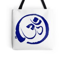 Om - Aum with Enso Zen circle Tote Bag