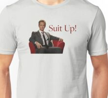 Barney Stinson- Suit Up Unisex T-Shirt