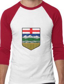 Flag of Alberta Men's Baseball ¾ T-Shirt