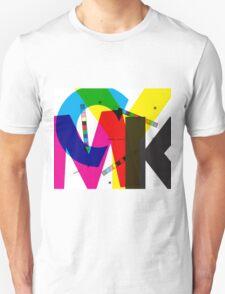 CMYK pattern Unisex T-Shirt