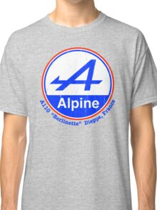 Alpine French Color Graphic Classic T-Shirt