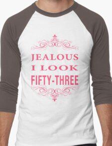 Don't Be Jealous - 53 Men's Baseball ¾ T-Shirt