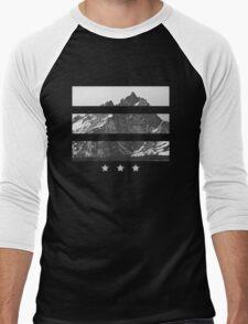 Mountain stars Men's Baseball ¾ T-Shirt