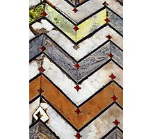 Marble Floor  Photographic Print
