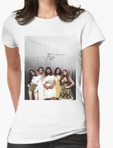 Fifth Harmony - 7/27 (Forest) Womens Fitted T-Shirt