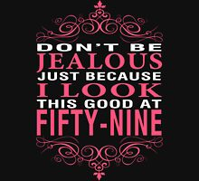Don't Be Jealous - 59 Women's Fitted V-Neck T-Shirt