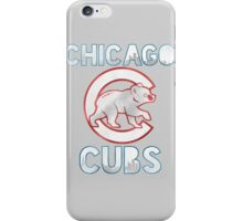 Chicago Cubs Skyline iPhone Case/Skin