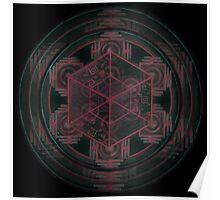 Cube - Root Chakra Poster