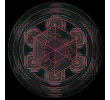 Cube - Root Chakra Photographic Print